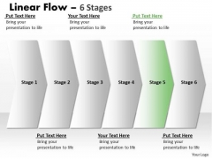 Flow Ppt Straight Demonstration Of 6 Power Point Stage Project Management PowerPoint Design
