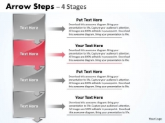Flow Ppt Theme Arrow Practice PowerPoint Macro Steps 4 Phase Diagram 3 Design