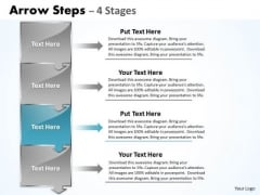 Flow Ppt Theme Arrow Practice PowerPoint Macro Steps 4 Phase Diagram Design