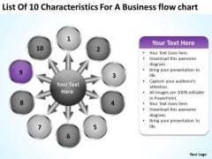 For A Free Business PowerPoint Templates Flow Chart Circular Process Slides