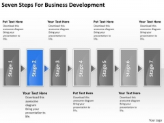 For Business PowerPoint Theme Development Coffee Shop Plan Templates
