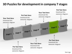 For Development In Company 7 Stages Ppt Manufacturing Process Diagram PowerPoint Templates