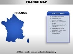 France PowerPoint Maps