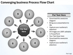 Free Business PowerPoint Templates Process Flow Chart Ppt Target
