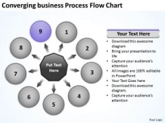 Free Business PowerPoint Templates Process Flow Chart Targets