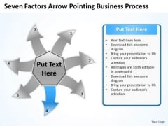 Free Business PowerPoint Templates Process Ppt Circular Flow Layout Chart