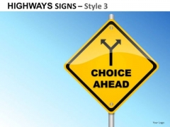 Freedom Highways Signs 3 PowerPoint Slides And Ppt Diagram Templates