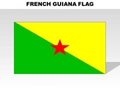 Frenchguiana Country PowerPoint Flags