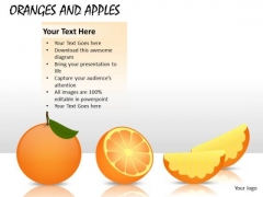 Fruit Oranges PowerPoint Slides And Ppt Diagram Templates