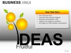 Fruitful Ideas PowerPoint Templates