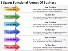 Functional Arrows Of Business PowerPoint Templates Your Plan Slides