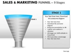 Funnel Diagram For PowerPoint Presentations