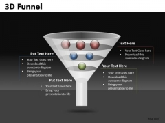 Funnel Shape Diagram For PowerPoint Slides Ppt Templates
