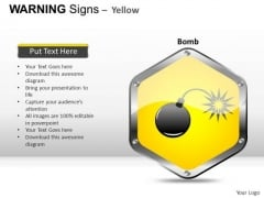 Furious Warning Signs PowerPoint Slides And Ppt Diagram Templates