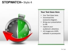 Future Stopwatch 4 PowerPoint Slides And Ppt Diagram Templates