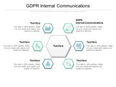 GDPR Internal Communications Ppt PowerPoint Presentation Portfolio Deck Cpb