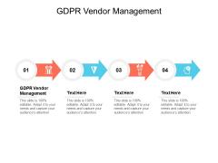 GDPR Vendor Management Ppt PowerPoint Presentation Inspiration Graphics Design Cpb