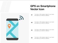 GPS On Smartphone Vector Icon Ppt PowerPoint Presentation Summary Sample