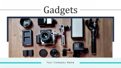 Gadgets Computer Network Ppt PowerPoint Presentation Complete Deck With Slides