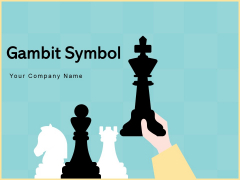 Gambit Symbol Strategy Business Ppt PowerPoint Presentation Complete Deck