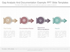 Gap Analysis And Documentation Example Ppt Slide Templates