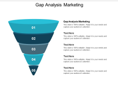 Gap Analysis Marketing Ppt PowerPoint Presentation Model Graphics Template Cpb
