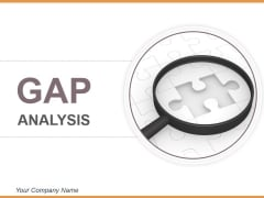 Gap Analysis Powerpoint Slide Designs