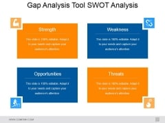 Gap Analysis Tool Swot Analysis Ppt PowerPoint Presentation Show Rules