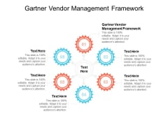 Gartner Vendor Management Framework Ppt PowerPoint Presentation Model Graphic Tips Cpb