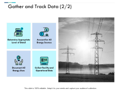 Gather And Track Data Business Ppt PowerPoint Presentation File Samples