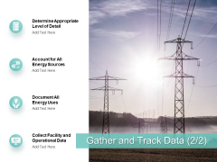 Gather And Track Data Operational Data Ppt PowerPoint Presentation Slides Design Inspiration