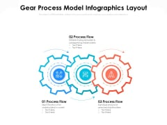 Gear Process Model Infographics Layout Ppt PowerPoint Presentation File Graphic Images PDF