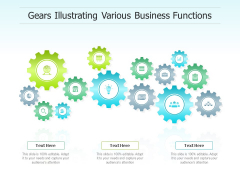 Gears Illustrating Various Business Functions Ppt PowerPoint Presentation Gallery Inspiration PDF