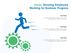 Gears Showing Employee Working For Business Progress Ppt PowerPoint Presentation File Graphics PDF