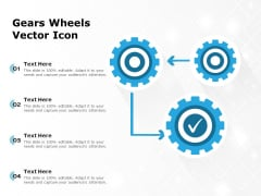 Gears Wheels Vector Icon Ppt PowerPoint Presentation Outline Example PDF