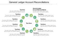 General Ledger Account Reconciliations Ppt PowerPoint Presentation Icon Display Cpb