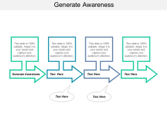Generate Awareness Ppt PowerPoint Presentation Ideas Guide
