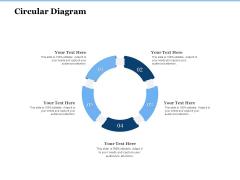 Generate Digitalization Roadmap For Business Circular Diagram Introduction PDF
