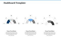 Generate Digitalization Roadmap For Business Dashboard Template Summary PDF