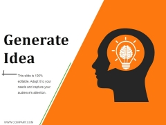 Generate Idea Ppt PowerPoint Presentation Summary Images