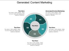 Generated Content Marketing Ppt PowerPoint Presentation Portfolio Slides Cpb