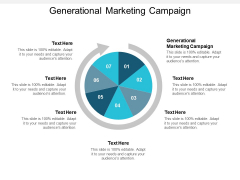 Generational Marketing Campaign Ppt PowerPoint Presentation Layouts Design Templates Cpb