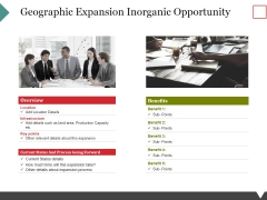 Geographic Expansion Inorganic Opportunity Ppt PowerPoint Presentation File Deck