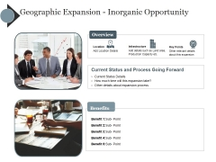Geographic Expansion Inorganic Opportunity Ppt PowerPoint Presentation Layouts Template