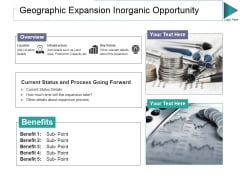 Geographic Expansion Inorganic Opportunity Ppt PowerPoint Presentation Pictures Maker