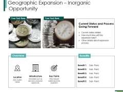 Geographic Expansioninorganic Opportunity Ppt PowerPoint Presentation Portfolio Designs