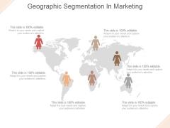 Geographic Segmentation In Marketing Ppt PowerPoint Presentation Background Designs