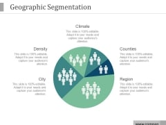 Geographic Segmentation Ppt PowerPoint Presentation Good