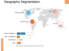 Geographic Segmentation Ppt PowerPoint Presentation Slides Deck