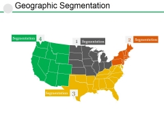 Geographic Segmentation Template 1 Ppt PowerPoint Presentation Professional Rules